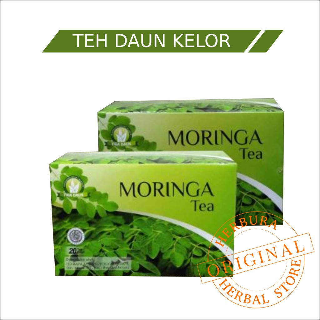Teh Daun Kelor Moringa Shopee Indonesia