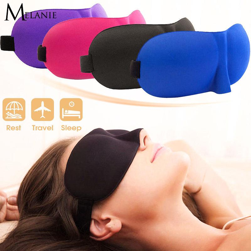 Padded 3D Travel Soft Eye Mask Sleep Shade Cover Rest Relax Shade Covers Eyepatch thumbnail