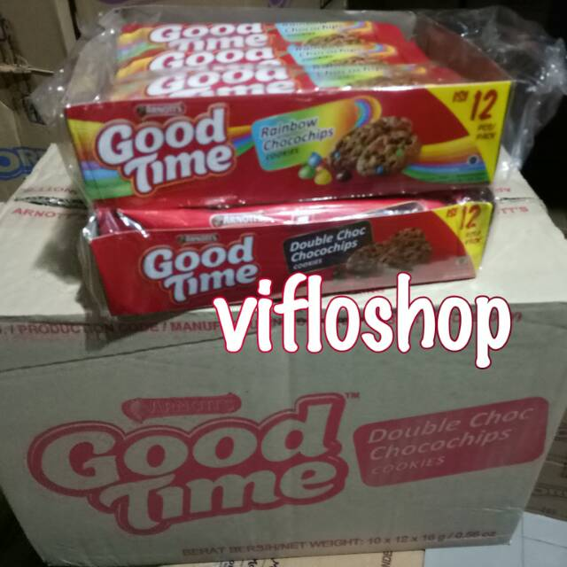 Biskuitkemasan: Grosir & Eceran Biskuit Good Time Double Chocochips