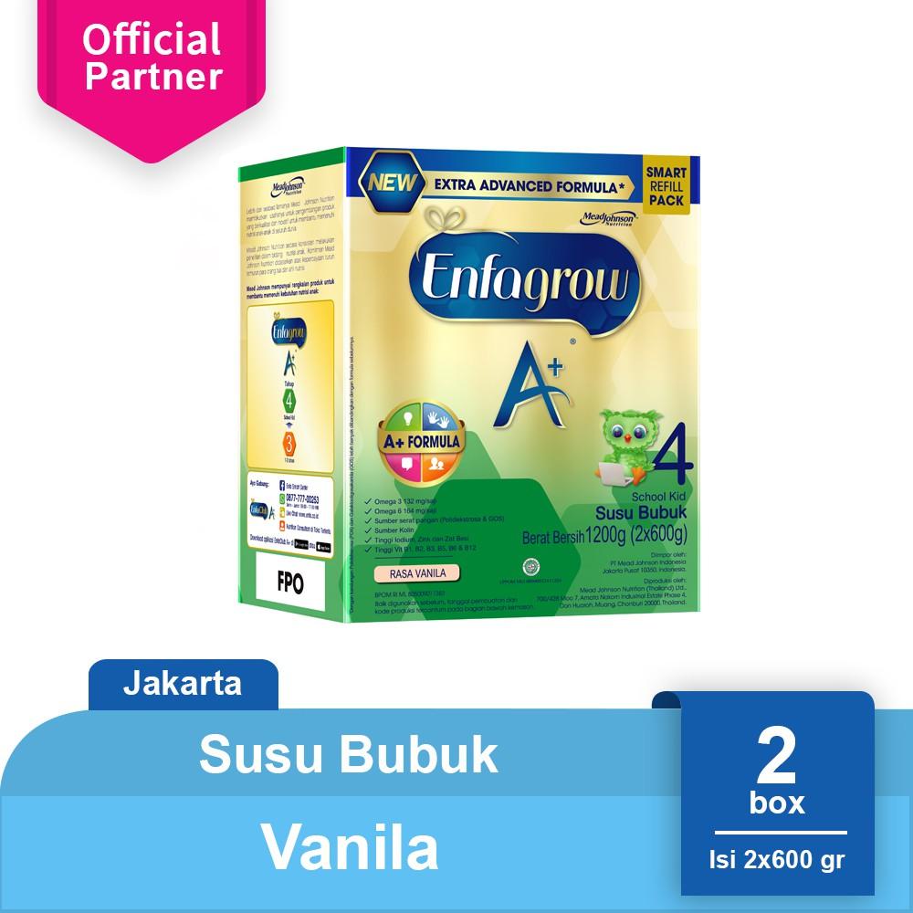 Enfagrow A 4 Susu Formula Pertumbuhan Vanila 1800g Mks Shopee Sustagen Kid Vnl Tin 800 Gr Indonesia