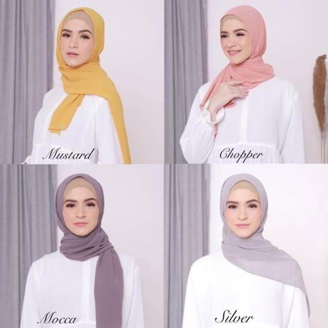 Pashmina Tali Instan Shopee Indonesia