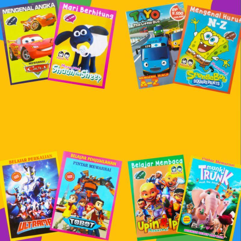 Buku Mewarnai Anak Buku Mewarnai Anak Tk Buku Mewarnai Anak Paud Beli 3 Pcs Gratis 1 Shopee Indonesia