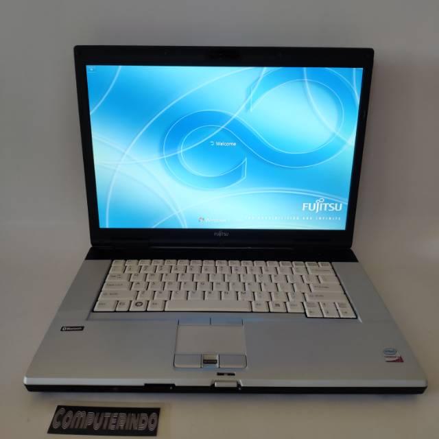 Laptop Desain dan gaming murah Fujitsu lifebook - Core2duo - Ram ...