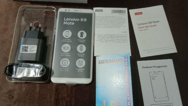 LENOVO K9 NOTE (L38012) RAM 4GB INTERNAL 64GB GARANSI DISTRIBUTOR