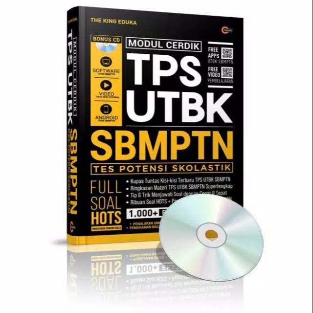 Buku Modul Cerdik Tps Utbk Sbmptn The King Eduka Cmedia Shopee Indonesia