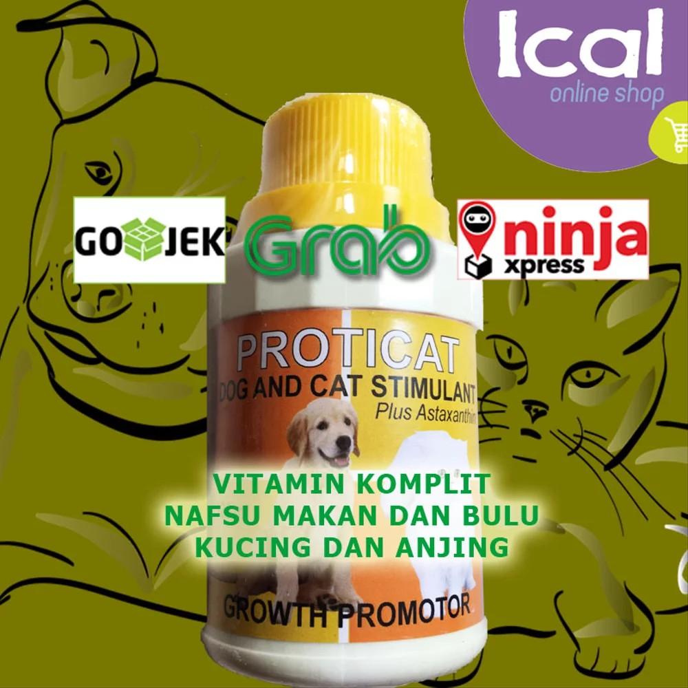 Promo Vitamin Kucing Lengkap Untuk Pertumbuhan Dan Bulu Proticat 125ml Shopee Indonesia