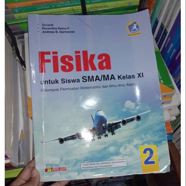 Fisika Kelas 11 Fisika Kelas Xi Yrama Widya Shopee Indonesia