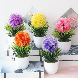 guninco tanaman palsu hias palsu imitasi bunga dekorasi