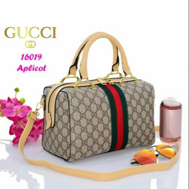 0a56cbe4dcf830 GUCCI Mono Top-Zip Tote Bag H10539(512 | Shopee Indonesia