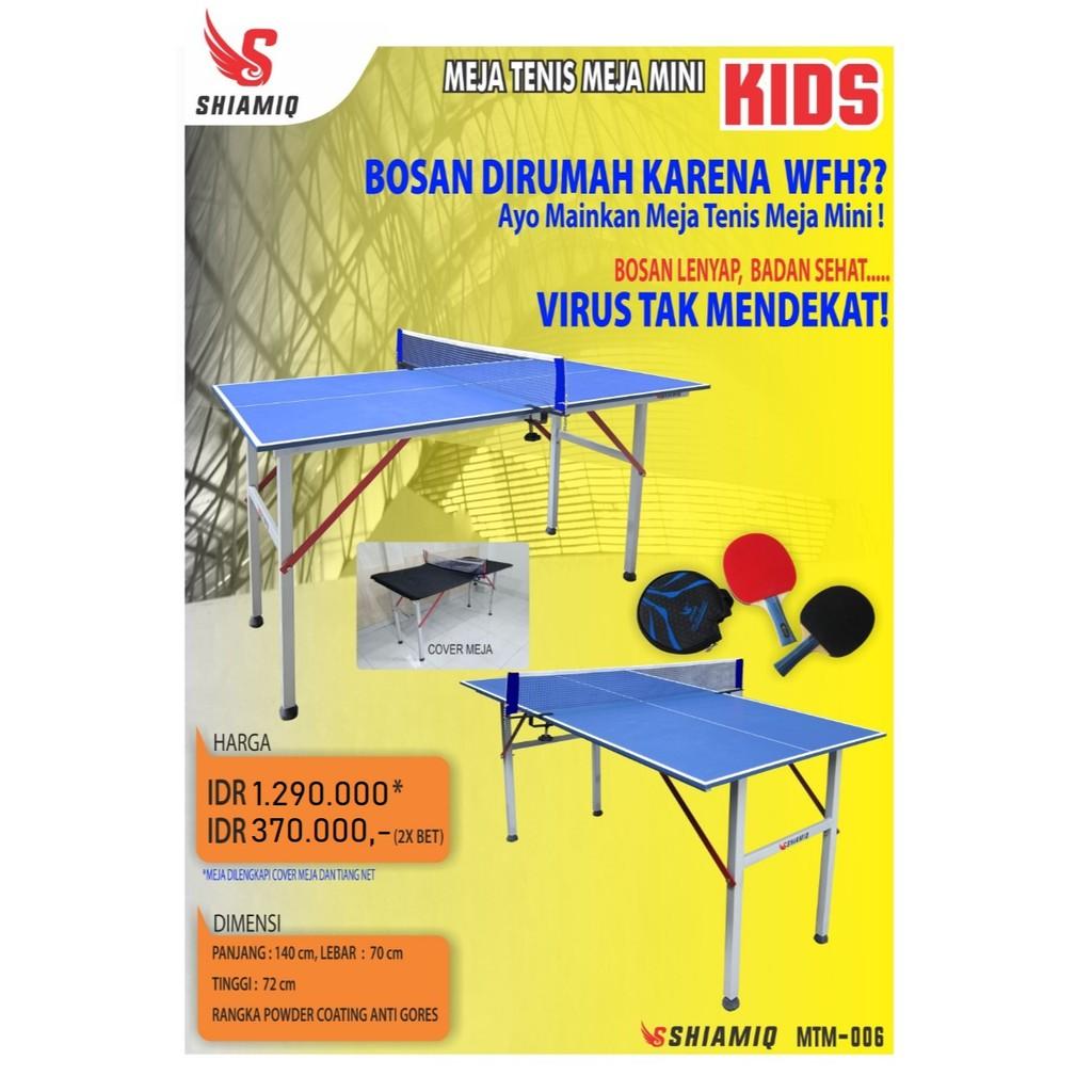 Meja Tenis Meja Mtm600 Shiamiq Kid Shopee Indonesia