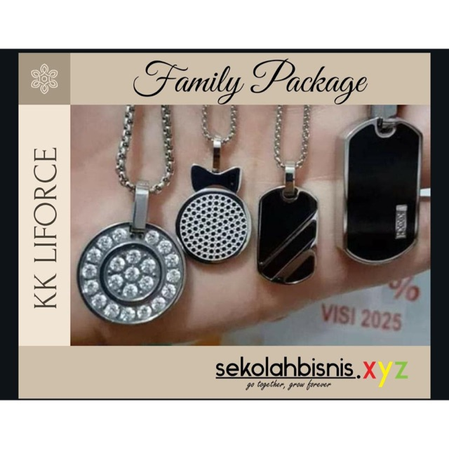 KK Liforce Promo Family Package Paket Hemat 4 pcs KK Liforce