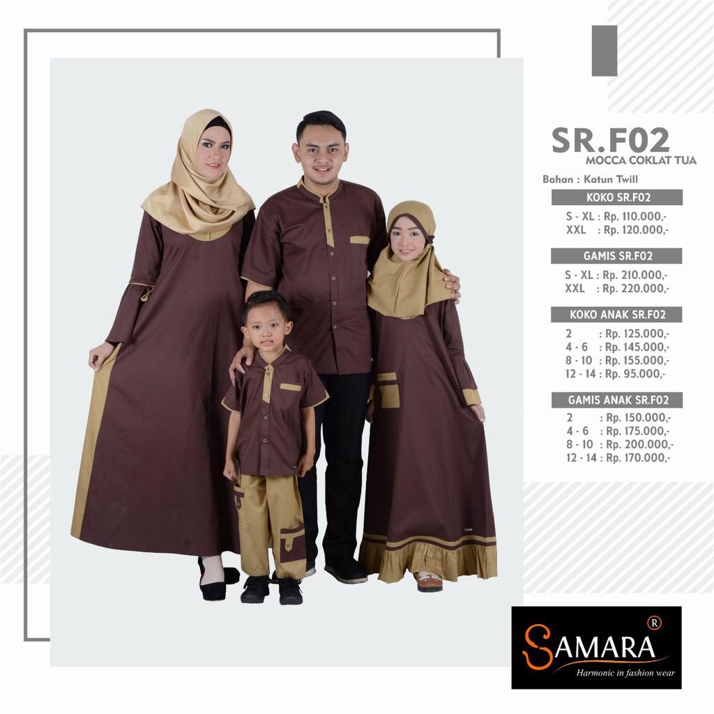 Baju couple keluarga 12% original by SAMARA bahan katun twill tersedia  SIZE JUMBO