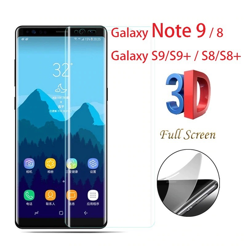 Anti Gores PET HD Clear Screen Protector - Galaxy Note 9 8 S9 S8 plus
