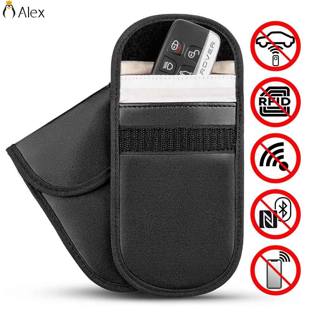 Safe Phone Blocking Bag Faraday Cage  Car Key  Fob Pouch  Signal Blocker Case