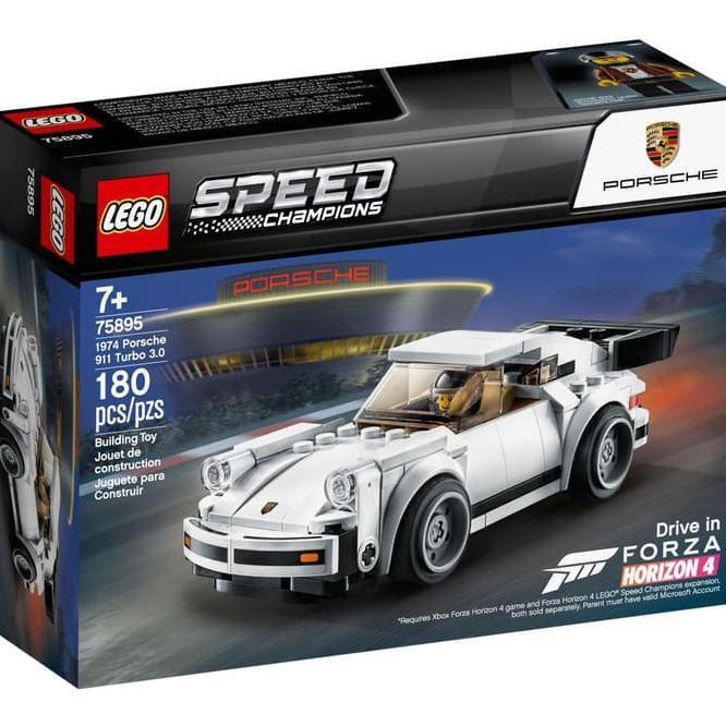 Mainan Edukasi Terbaru Lego 75895 Speed Champions 1974 Porsche 911 Turbo 3 0 Shopee Indonesia