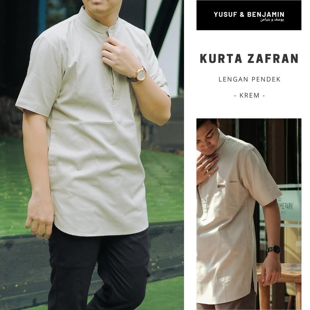 Kurta Zafran by Yusuf Benjamin Lengan Pendek