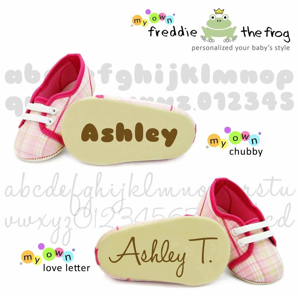 Baru Freddie The Frog My Own Personalized Shoes Paling Murah Lustybunny Baby Motive Round 22 Cokelat Tua Shopee Indonesia