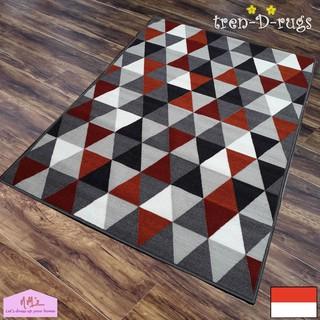 Shaggy Anti skid Carpets Rugs Floor Mat Cover 80x120cm Grass Green intl | Shopee Indonesia