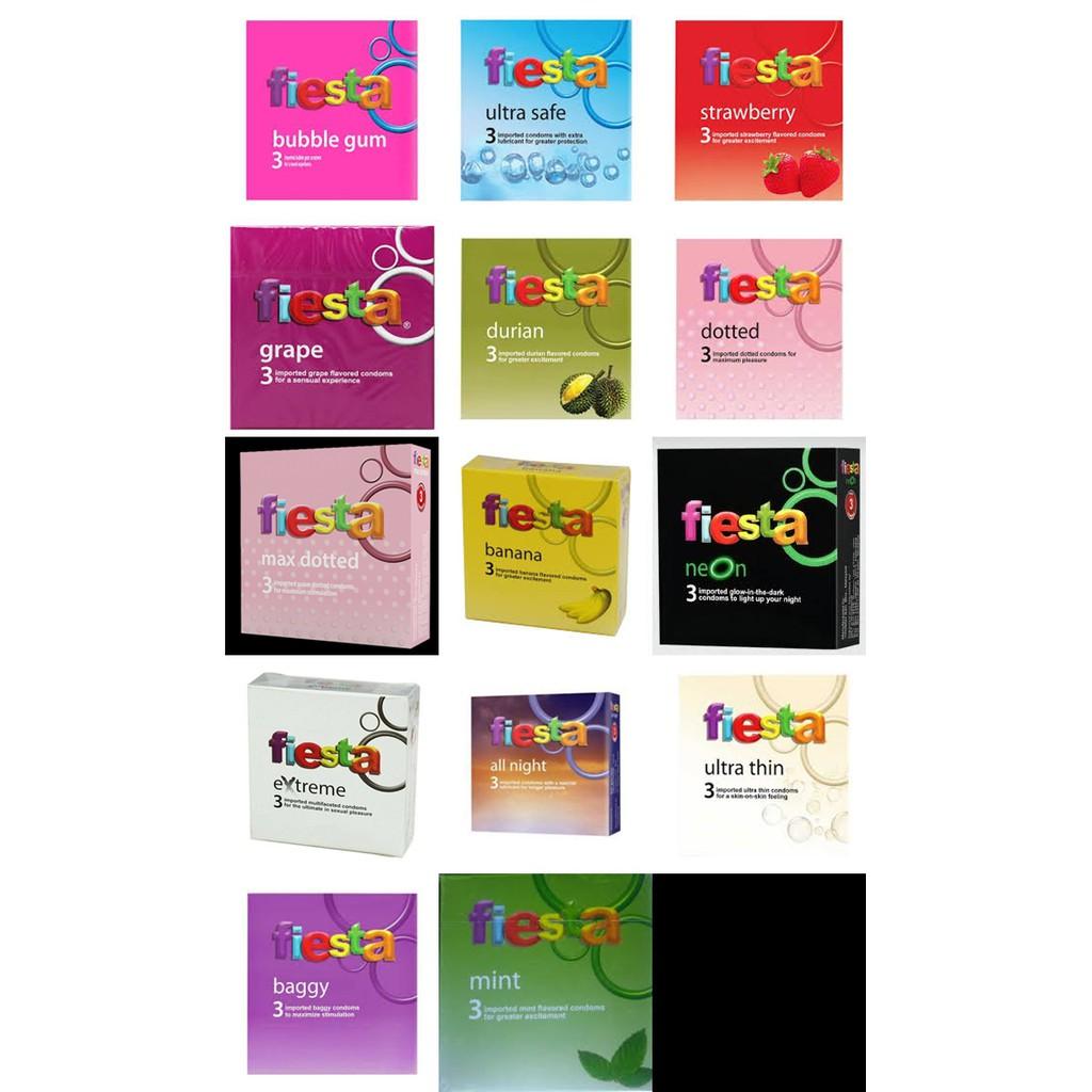 Up To 62 Discount From Kompak Kondom Fiesta Durian All Variant Per Box