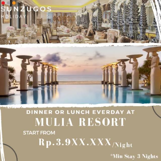 Voucher Hotel Bali Promo Mulia Resort Shopee Indonesia