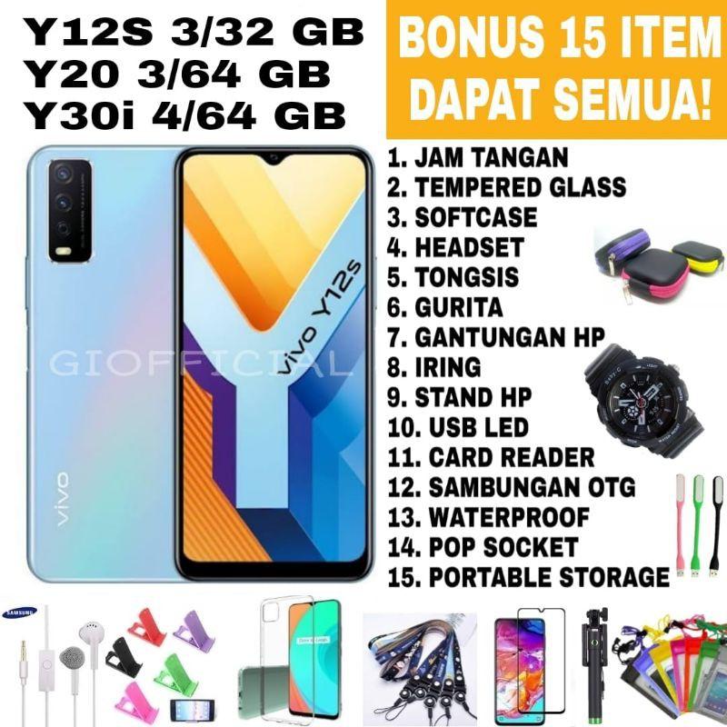 VIVO Y20S Y53S NFC  Y12s Y1s Ram 4 64/128 8/128 Garansi Resmi vivo