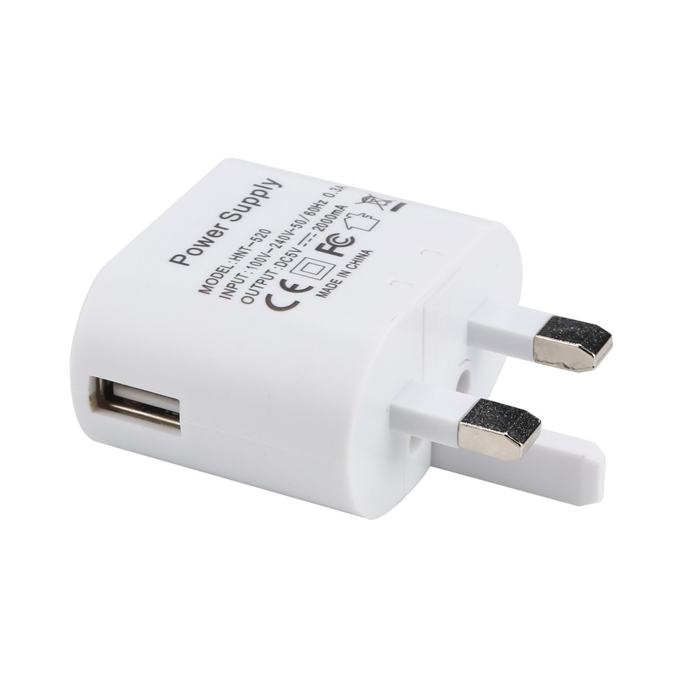 Charger Power Adapter Lipat 5V 2A AC Plug UK untuk Samsung | Shopee Indonesia