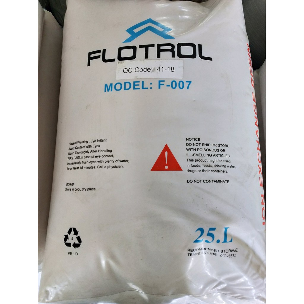 Resin Cation Softener Flotrol Suku Cadang Shopee Indonesia