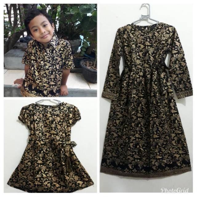 Baju Batik Anak Kemeja Anak Dres Anak Gamis Anak 154