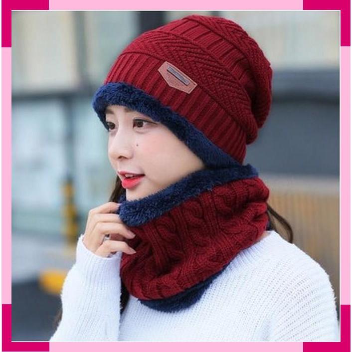 Topi Kupluk Wool Rajut Hangat Korea Pria   Wanita untuk Musim Dingin ... 0bae7352ae
