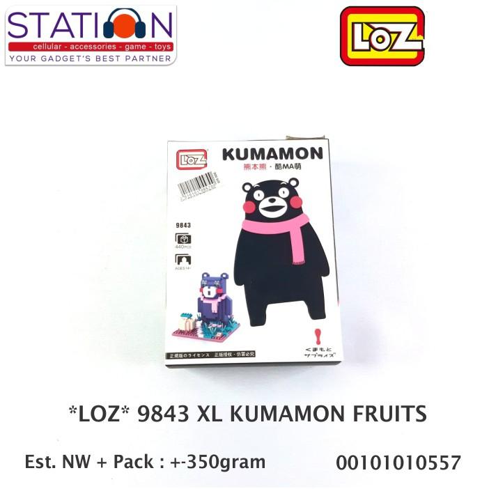LOZ 9841 KUMAMON LOVE-550 PCS  dc557d5aaa