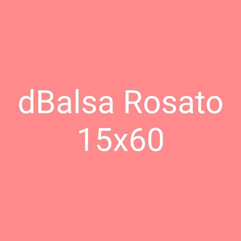 granit motif kayu dBalsa Rosato 15x60cm