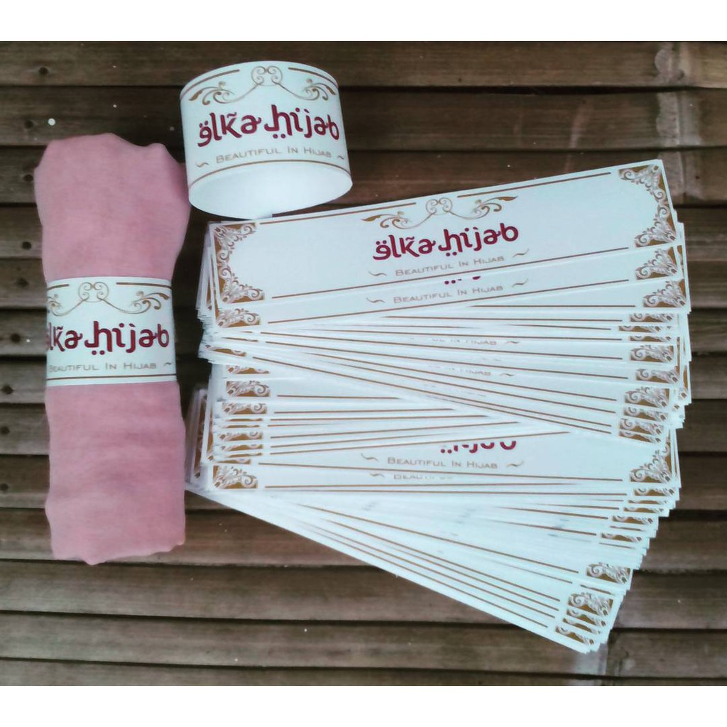 roll hijab / label hijab / label jilbab uk 11 x 11