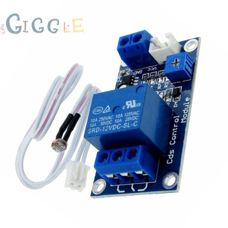 Photoresistor sensor Module 5V//12V Relay 10A Replacement For Arduino 1pc