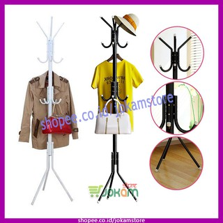Hanger Berdiri Stand Hanger Gantungan Baju Bisa Portable Multifungsi/ Standing Hanger Multifunction! | Shopee Indonesia