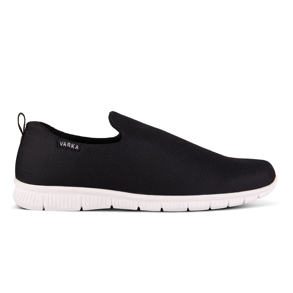Dr Kevin Men Sneakers Slip On Shoes 13314 2 Color Options Grey Sneaker Black Blue Shopee Indonesia