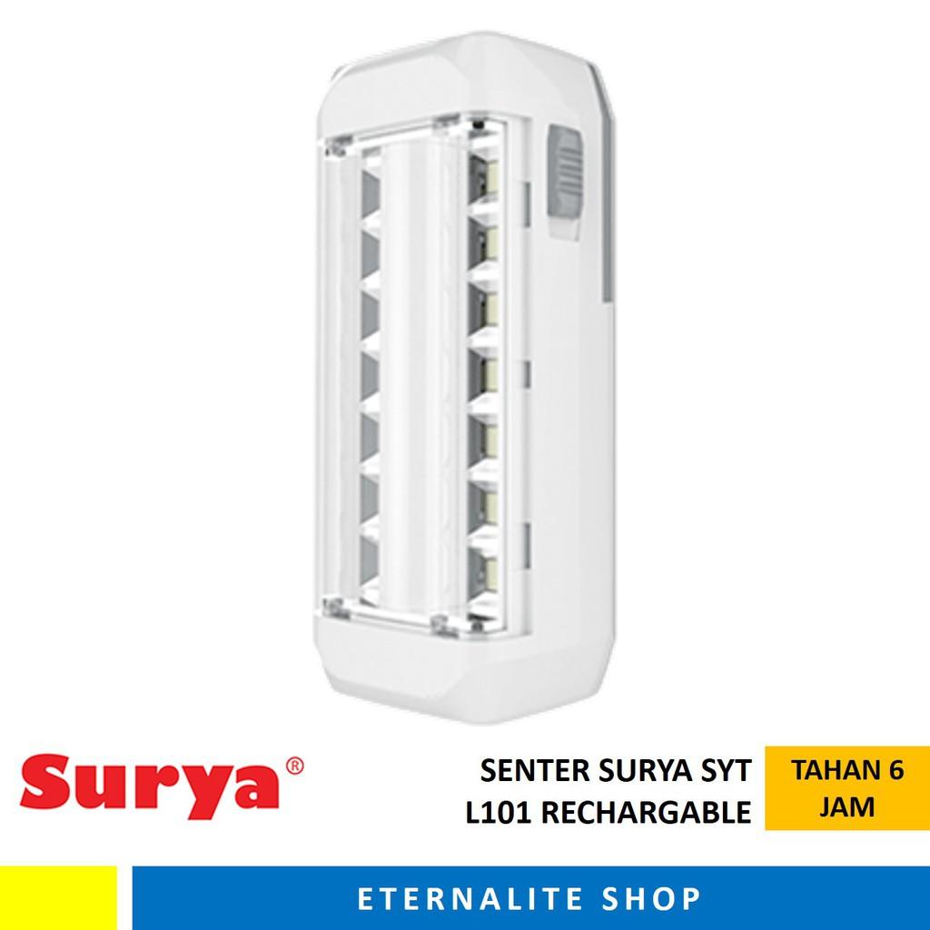 Senter Lampu SURYA SYT L101 / Emergency Lamp/ Lampu Darurat | Shopee Indonesia