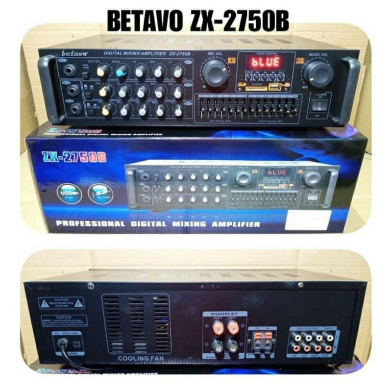 Power amplifier bluetooth original betavo equalizer ampli