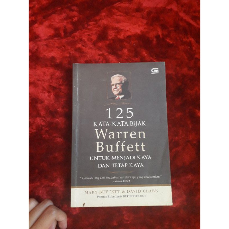 Preloved 125 Kata Kata Bijak Warren Buffett Shopee Indonesia