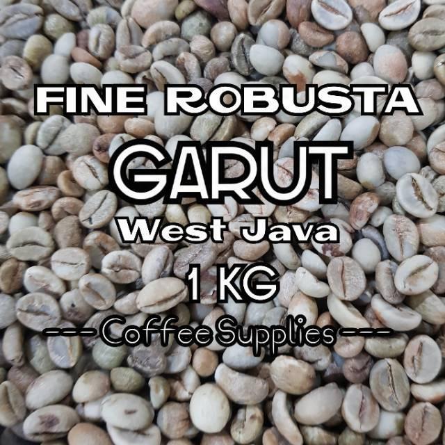 FINE ROBUSTA GARUT Java Garoet Green Unroasted Cofee Bean raw biji kopi mentah jawa