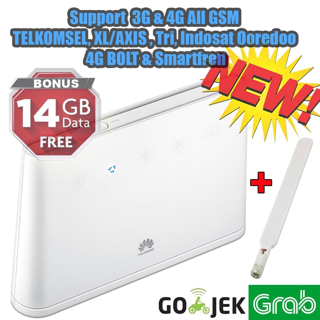 Home Router Huawei B310 Unlocked Permanen Free Xl 240gb Antenna Mifi Modem Wifi 4g E5573 Bypass Tsel 14gb Shopee Indonesia