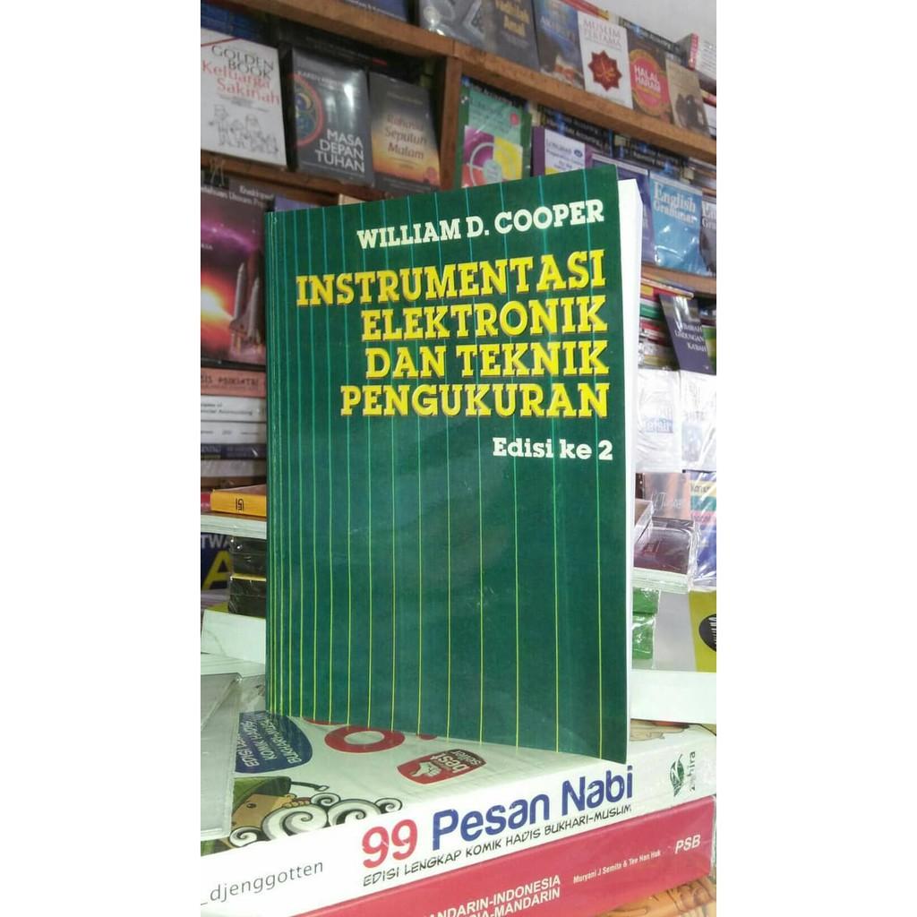 Buku Instrumentasi Elektronik Dan Teknik Pengukuran By William D Cooper Shopee Indonesia