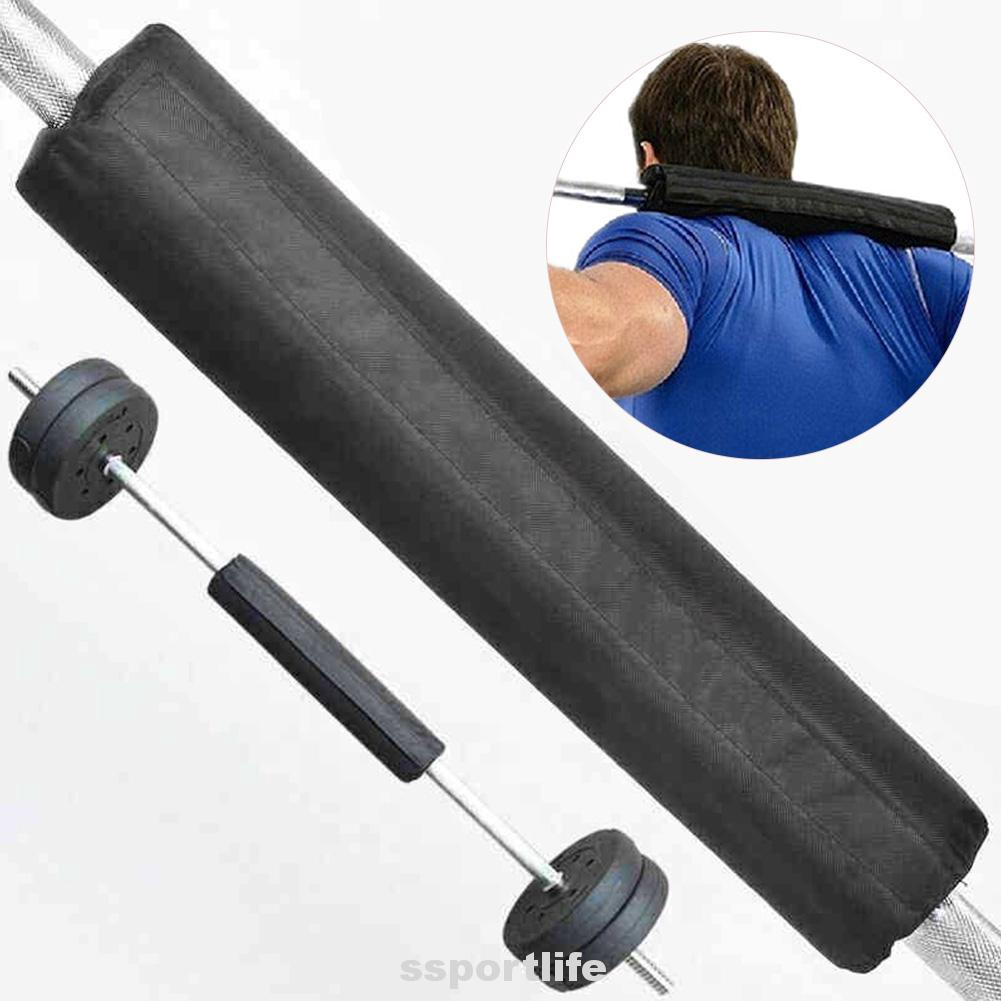 NEW Barbell Pad Squat Bar Supports Weight Lifting Pull Up Neck Shoulder Protect