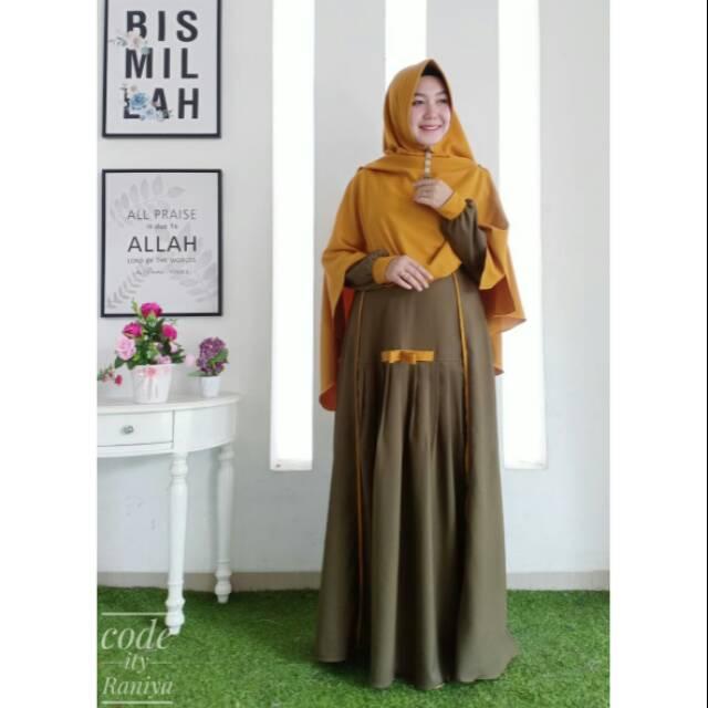Gamis Syari Original By Aku Karissa Terbaru Shopee Indonesia