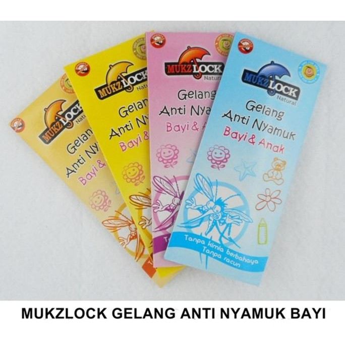 Gelang anti nyamuk bugs lock / green luck anti serangga / mosquito reppelent kids baby warna warni   Shopee Indonesia