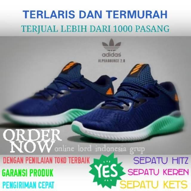 sepatu casual pria adidas ax2 olahraga volly sneakers running sport murah  653fcf2939