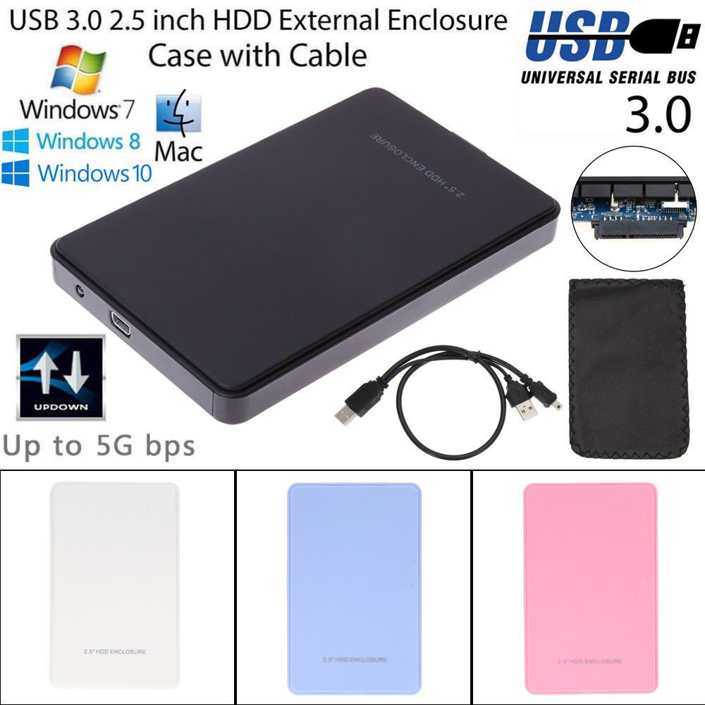 Ugreen Original Casing Enclosure Hard Disk External 25 Sata Usb Wd My Passport 2tb 30 Free Softcase Harddisk Dengan Kabel Micro Shopee Indonesia