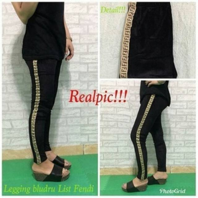 Legging Fendi Shopee Indonesia