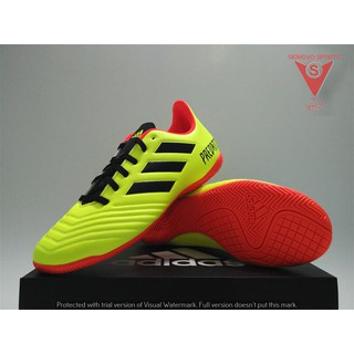 d2ed2a142 SEPATU FUTSAL - ADIDAS PREDATOR TANGO 18.4 IN ORIGINAL #DB2138 YELLOW |  Shopee Indonesia