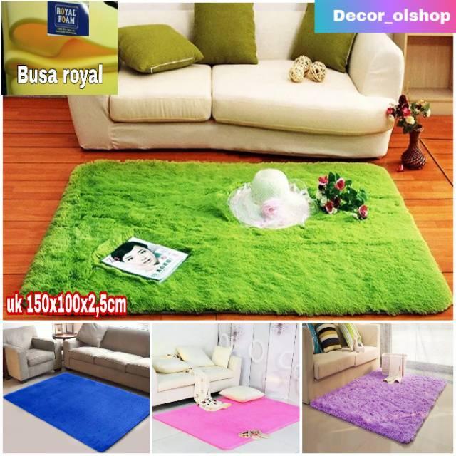 Karpet bulu uk 150x100x2 5 cm Shopee Indonesia