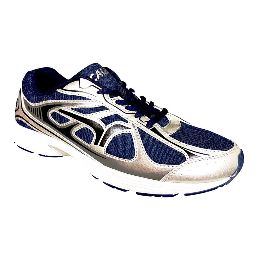 Ardiles Men Volga Sepatu Running Navy Orange Shopee Indonesia Edogawa Biru 44
